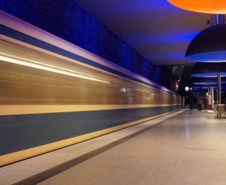 Subway Station Westfriedhof 2